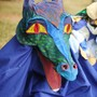 The Waldorf School of Atlanta Photo #4 - Our annual Michaelmas Festival includes a dragon chase (8th graders in costume), singing and field games.
