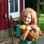 Joliet Montessori School Photo - An elementary student enjoys an overnight field trip to The Country Experience.