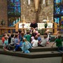 St. John Lutheran Early Learning Center Photo #7 - Weekly chapel devotions teach the children about God's great love for them and others. Parents are invited to attend one week each month.